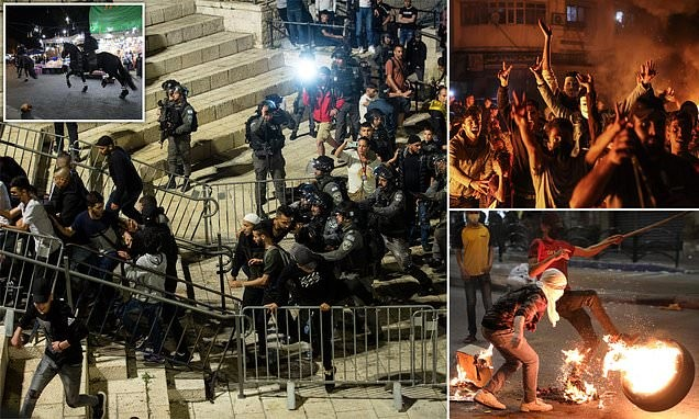 Clashes in Jerusalem continue as Israeli Prime Minister calls for calm