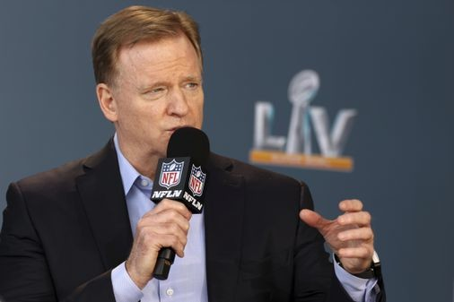 Roger Goodell gives tribute to Tom Brady five years after suspending him - The Boston Globe