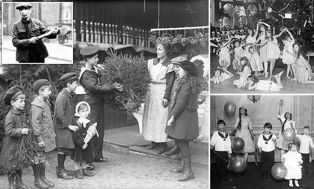 Christmas in the grips of the Spanish Flu in 1918 war-weary Britain