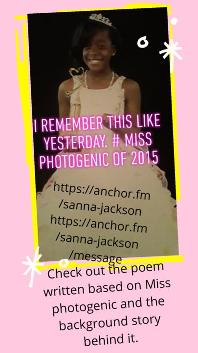 Miss Photogenic