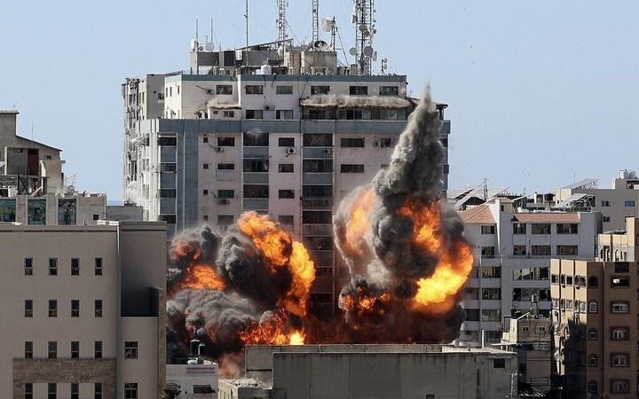 IDF defends strike on Gaza media building, noting Hamas, PIJ assets in building