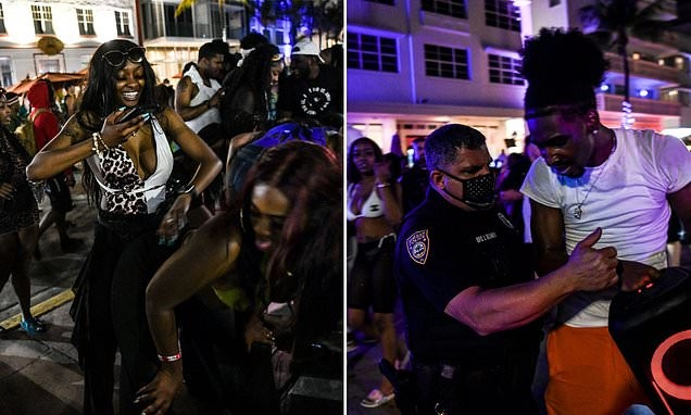 Miami Beach unveils curfew due to uncontrollable crowds