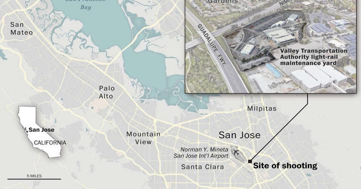 Public transit worker fatally shot 8, then killed himself at San Jose rail yard, authorities say
