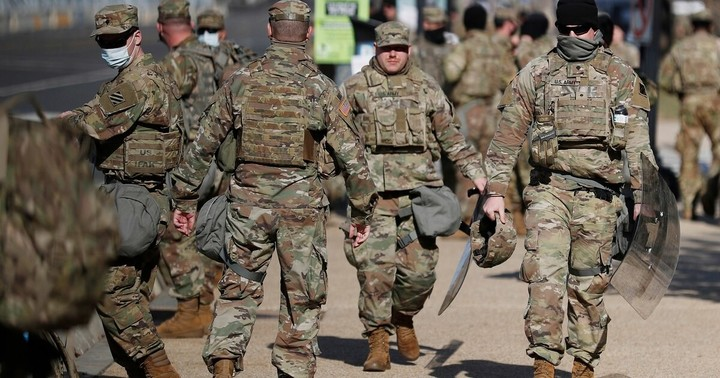 Thousands of Guard troops to stay in Washington as threats target lawmakers ahead of impeachment trial