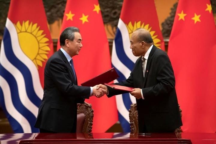 China plans to revive strategic Pacific airstrip, Kiribati lawmaker says