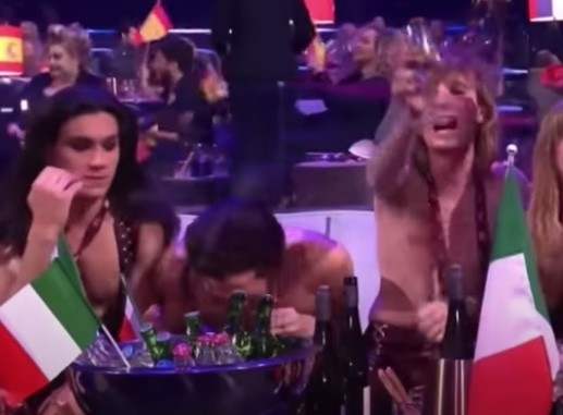WATCH: Eurovision Song Contest Winner Under Investigation for Allegations He Snorted Cocaine on Live Television
