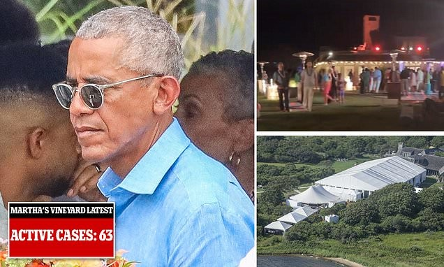 63 people in Martha's Vineyard test positive for Covid since Obama's