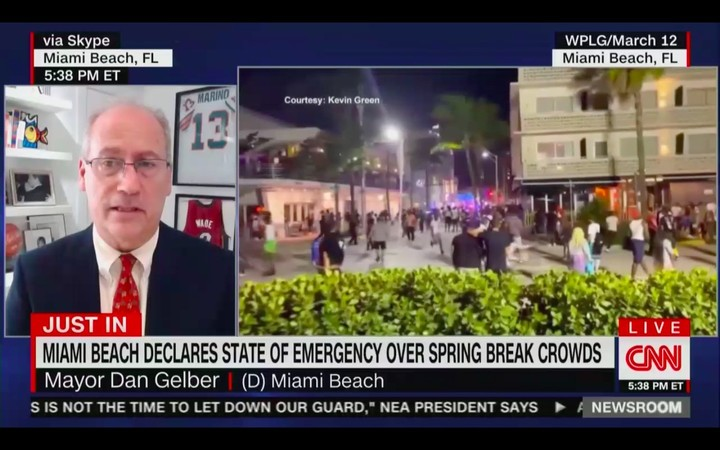 'We've Seen Enough…Please Don't Come Here': Miami Beach Mayor Imposes 8 PM Curfew, Closes Bridges To Control Spring Break Crowds