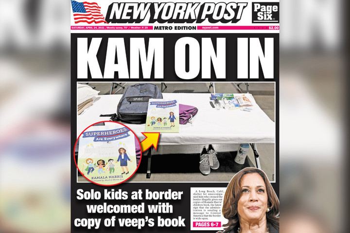 JUST IN: NY Post Reporter Who Wrote False Story on Kamala Harris Books Resigns, Says She Was 'Ordered' to Write It