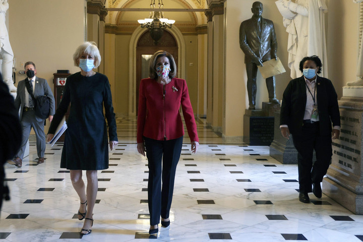 Articles of impeachment sparked by Capitol siege drafted by House Democrats