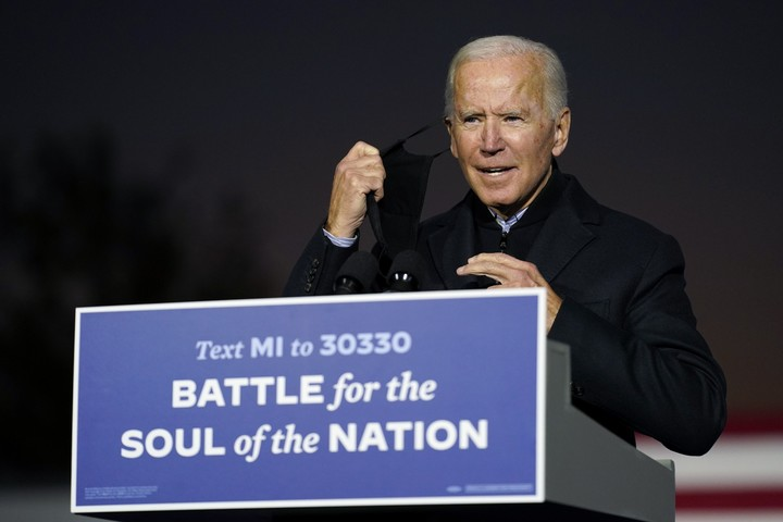 The Latest: Biden unleashes scathing attacks on Trump