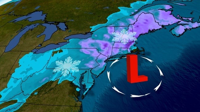 Winter Storm Orlena Hammers the Northeast With Heavy Snow, Strong Winds, Coastal Flooding | The Weather Channel - Articles from The Weather Channel | weather.com