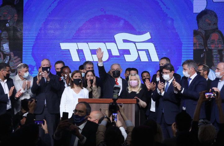 Netanyahu short for right-wing coalition, would need Arab support