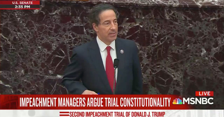 Jamie Raskin Gives Emotional Account of Riots at Trump Trial: My Daughter Told Me 'Dad, I Don't Want to Come Back to the Capitol'