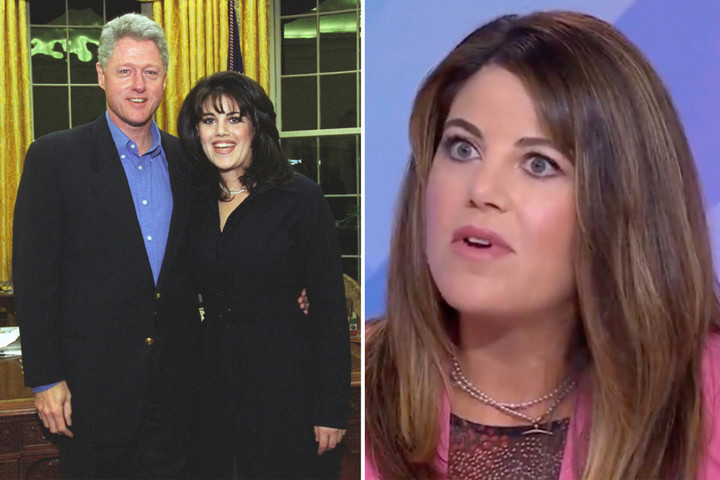 Monica Lewinsky says Bill Clinton 'should want to apologize' to her