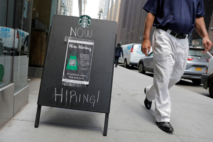 There are about 1 million more job openings than people looking for work