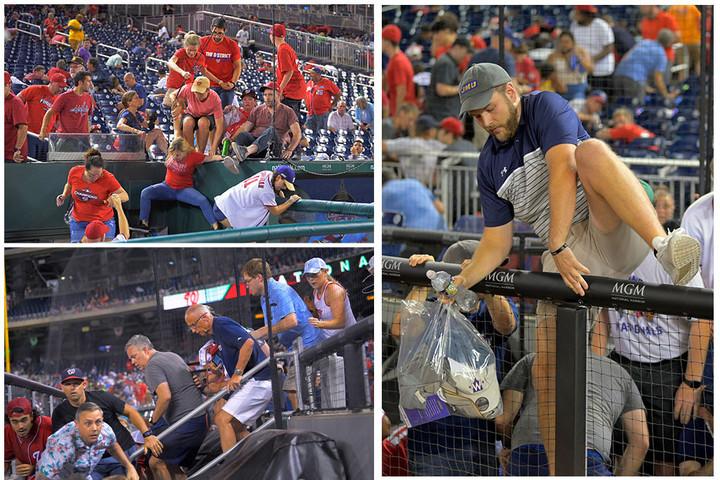 Shooting halts Washington Nationals game, causes chaos inside stadium