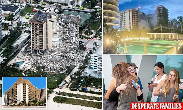 Miami police probe collapse of condo that left one dead and 99 missing
