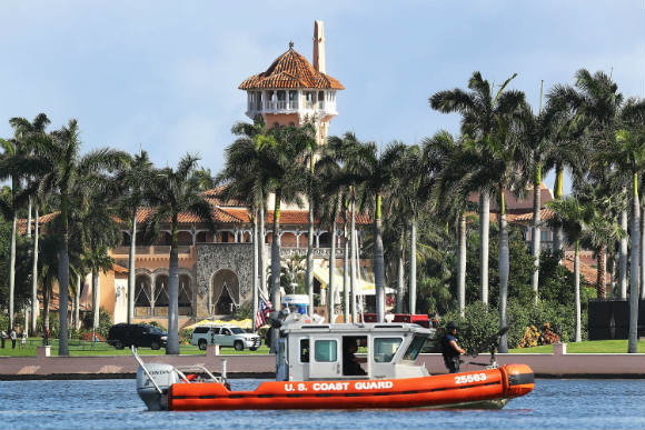 Palm Beach reviewing Trump's residency at Mar-a-Lago