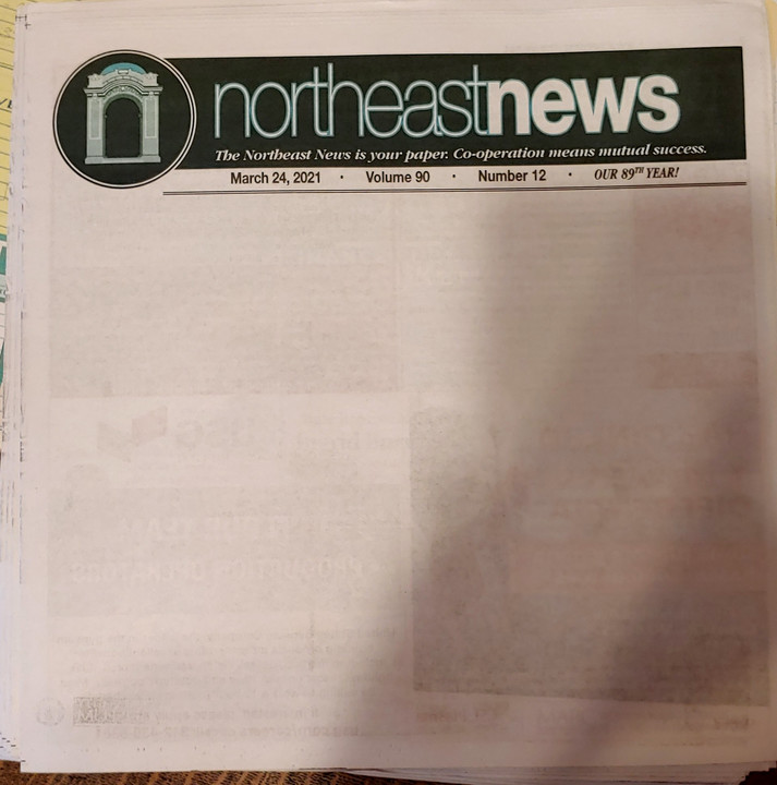 Kansas City newspaper sends a warning with a blank front page