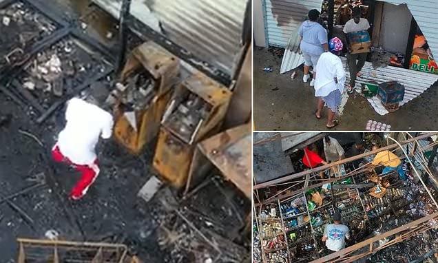 New Orleans hit by LOOTING in wake of Hurricane Ida