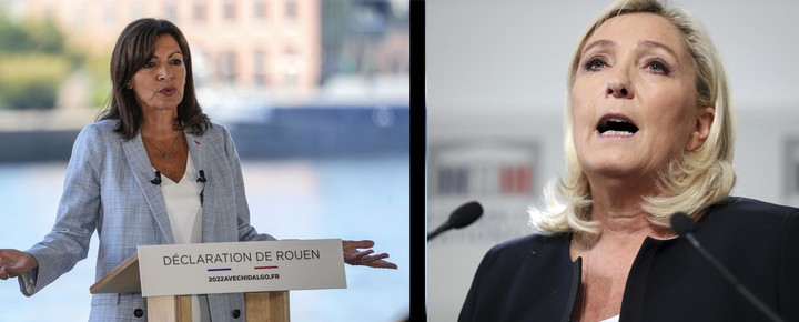 Two women campaign to become France's 1st female president