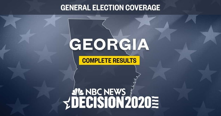 Georgia Election Results 2020