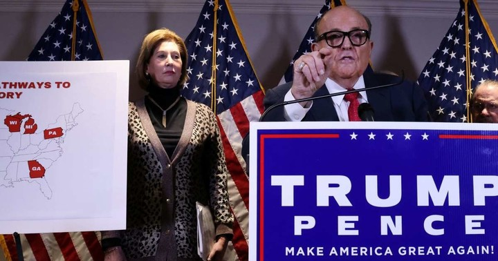 Can Trump's lawyers get in trouble for frivolous lawsuits?