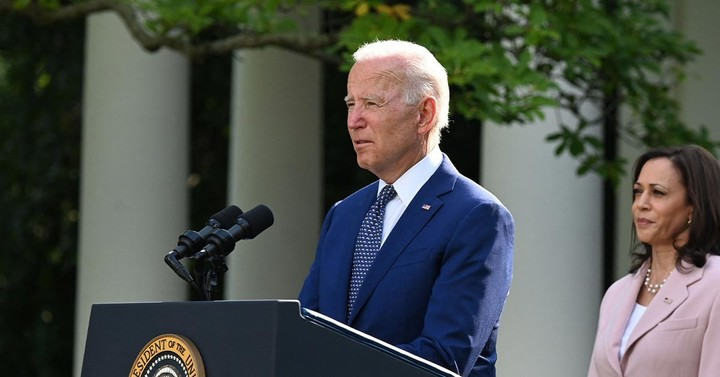 Biden's Approval Rating Hits New Low of 43%; Harris' Is 49%