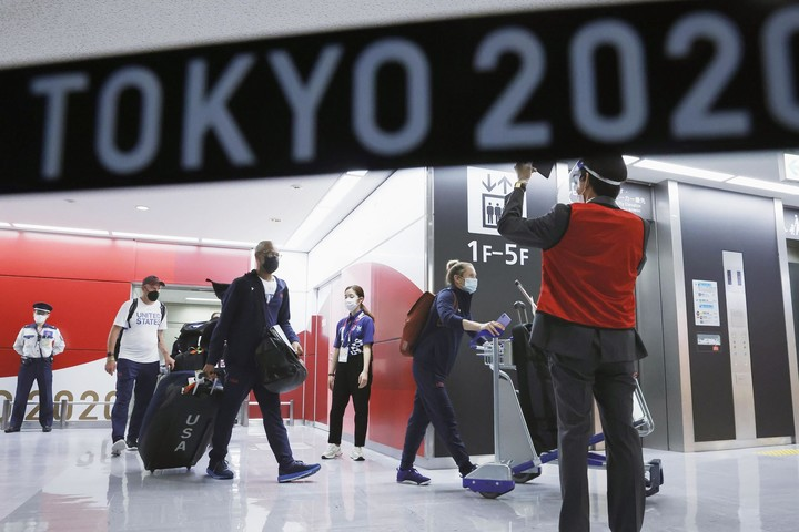 Olympic athletes test positive in Tokyo days before Games