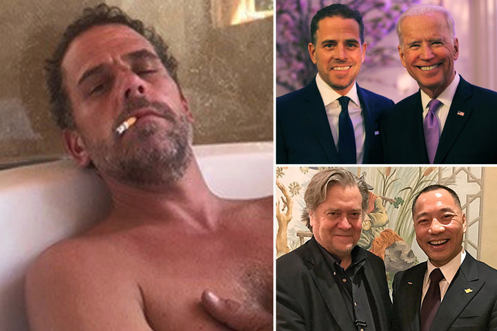 Alleged 'Hunter Biden sex tapes' posted on Chinese site linked to Steve Bannon