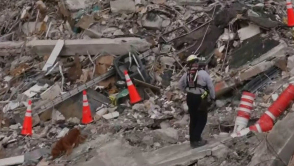 At Least 6 Firefighters Test Positive For COVID At Surfside Condo Collapse Search Site