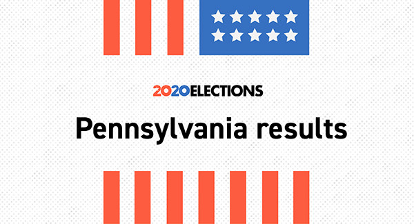 Live election results: 2020 Pennsylvania results