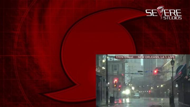 Hurricane Ida Landfall Live Coverage