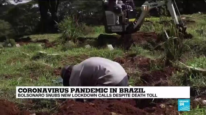 Why is Bolsonaro doubling down despite Brazil's soaring death toll? - France 24