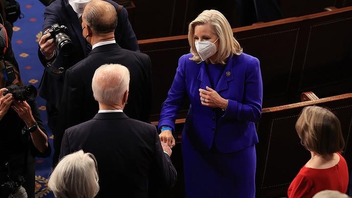 Cheney on fist bump with Biden: 'We're not sworn enemies. We're Americans'