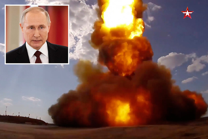 Putin confirms 'successful' test of missile 'designed to blast space weapons'