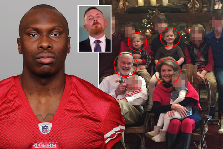 911 calls reveal moment NFL pro 'killed doc & family' as 20 shots heard
