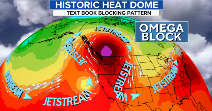 Pacific Northwest bakes under once-in-a-millennium heat dome