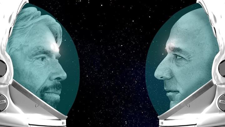 Bezos vs. Branson: Another billionaire space battle is brewing