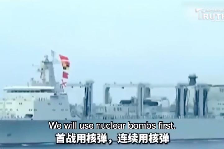 China threatens to NUKE Japan on eve of Olympics if it intervenes over Taiwan
