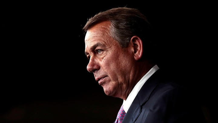 Boehner says 'unemployed' Trump 'has nothing else to do' but 'cause trouble'
