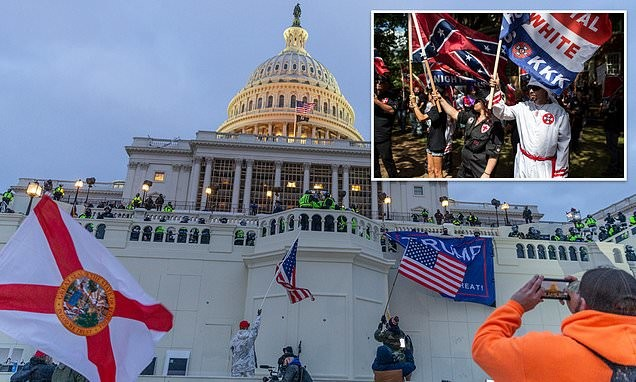 White supremacists are trying to join law enforcement and US military