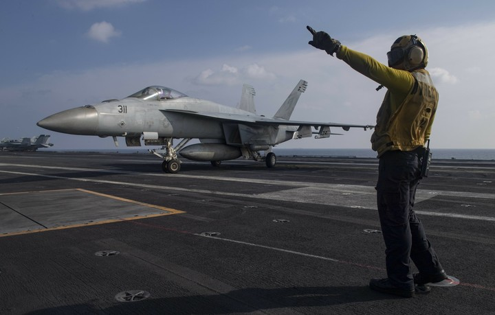 US to move aircraft carrier out of Mideast amid Iran tension