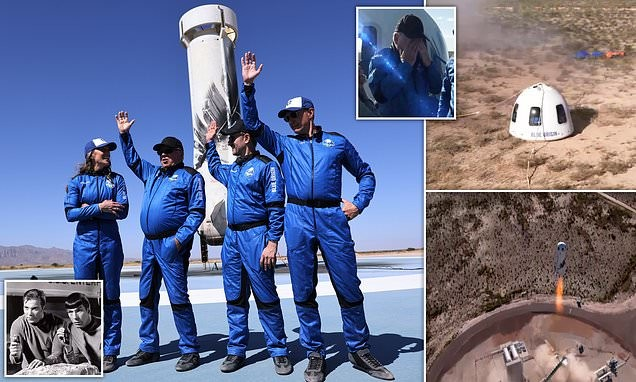 William Shatner, 90, becomes oldest man to go to space