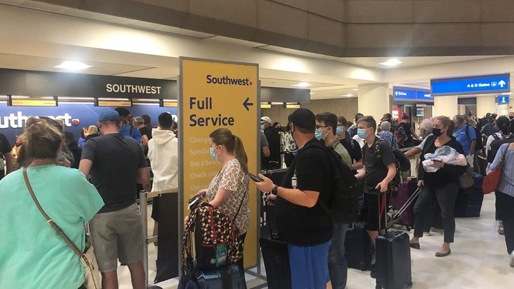 Southwest Airlines faces fifth day of delays, cancellations