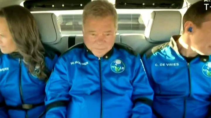 William Shatner Becomes Oldest Person to Travel to Space