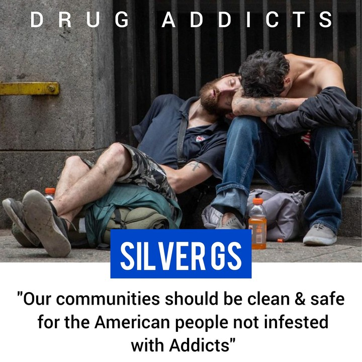 Addicts infesting our communities