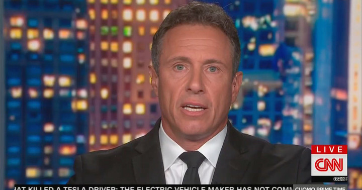 Chris Cuomo's Former Boss Accuses Him of Grabbing Her Butt, Offering Bizarre Email Apology Afterwards