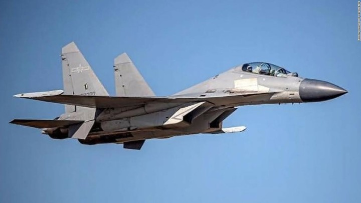 China sends 77 warplanes into Taiwan defense zone over two days, Taipei says
